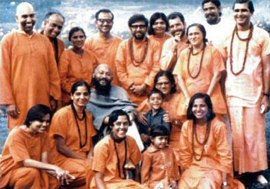 osho and first disciples