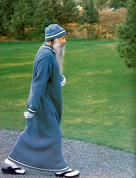 osho walking
